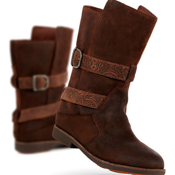 EMU Australia Wood Ainslie Leather Boot - Women | zulily