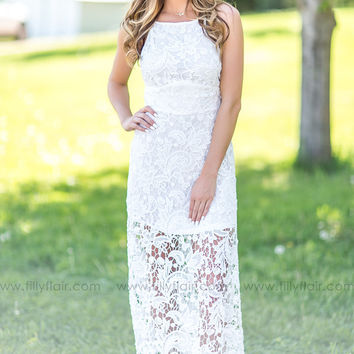 Fresh Air Lace Maxi Dress - Exclusive