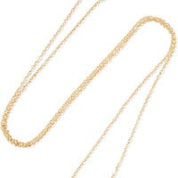 Jennifer Meyer - Mrs 18-karat gold diamond necklace