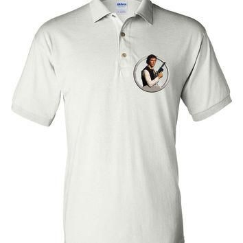 Brand New Polo T-shirt Star Wars Hans Solo