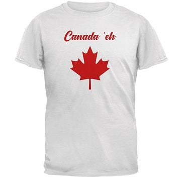 Canada Day 'Eh Pun Red Mens T Shirt