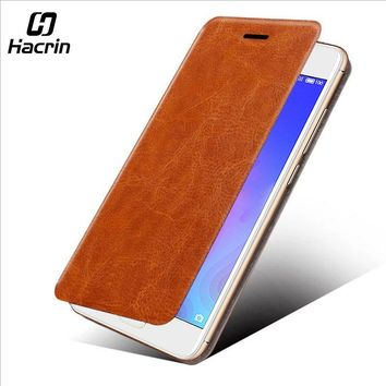Hacrin for Xiaomi MiA1 Mi A1 Leather Flip Wallet Case Protector Flip Leather Case Back Cover for Xiaomi Mi 5X/Mi A1 Cover