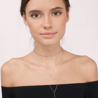 Janiya Lariat Necklace