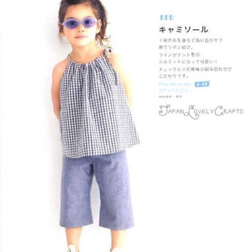 Easy Hand Sewn Girls Clothes - Emiko Takahashi - Japanese Sewing Pattern Book - B1176