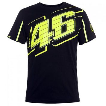 valentino rossi limited edition black 46 fan art t shirt-1
