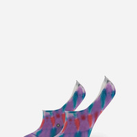 Stance Warped Womens Super Invisible Socks Purple