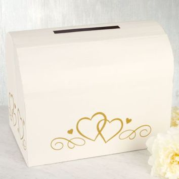 Ivory Wedding Card Holder Box 10in x 15in | Party City