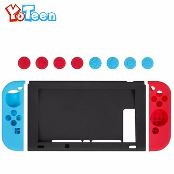 1 Set Case for Nintend Switch Case NS NX Silicone Soft Silicone Protective Cover for Nintendo Switch Console Protective Cover