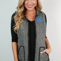 University of Kentucky Herringbone Vest