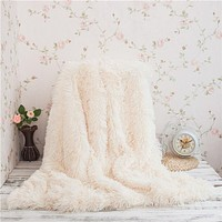 Super Soft-Long Shaggy Faux Fur Blanket
