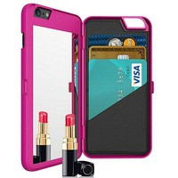 Cool Luxury Mirror Phone Case And Wallet