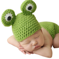 Frog Knit Hat Last Call - CCA57