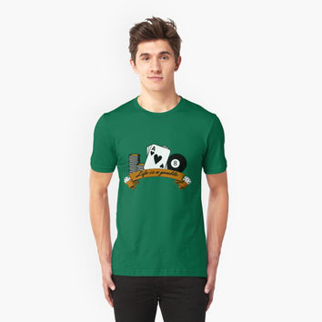 'poker t shirt' T-Shirt by untagged-shop