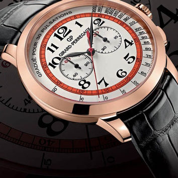 Girard-Perregaux 1966 Chronograph Doctor's Watch Dubail Pink Gold Men's Watch 49539-52-1214SBK6