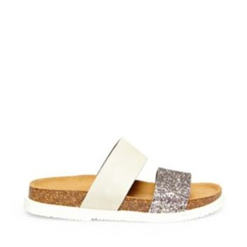 Women's Leather Slide Sandals | Steve Madden BAYLIEE