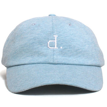 Un Polo Sports Unstructured Hat Heather Blue