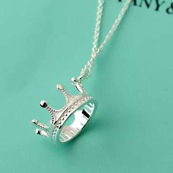 Tiffany & Co. Crown necklace