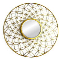 Golden Dream Catcher Mirror