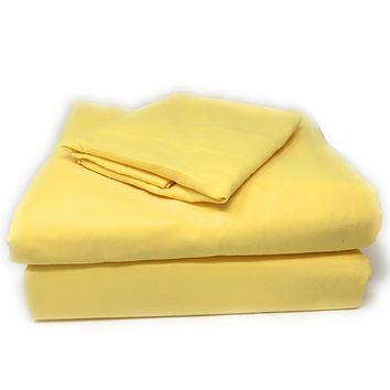 Tache 2-3 Piece Sunny Yellow Duvet Cover Set (TA404-YS-DS)
