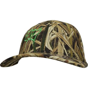 Curved Bill 707 Mossy Oak Shadow Grass Flex Hat
