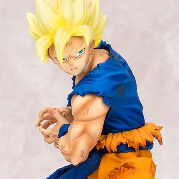 MegaHouse Dimension of Dragonball Z Overdrive Super Saiyan Son Goku
