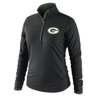 Nike Store. Nike Conversion Half-Zip (NFL Packers) Women's Running Top