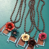 Alabama State Flower Necklace