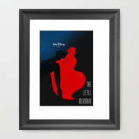 The Little Mermaid Framed Art Print by Comicord