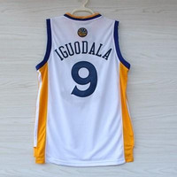 Warriors White Andre IGUODALA 9 Jerseys Shirts Newest Golden State Sport Uniform S-XXXL Top Quality Men's Basketball Jersey