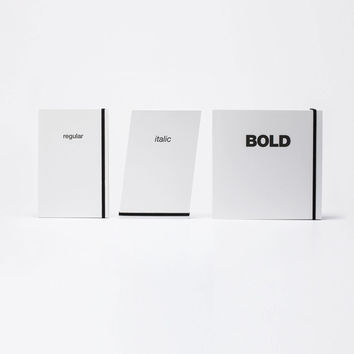 Font Family Notebook