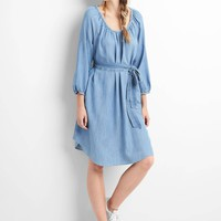 TENCEL™ scoop neck dress | Gap