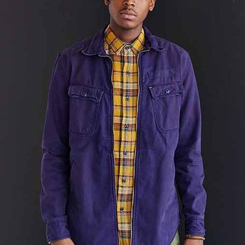 Koto Chinaski Shirt Jacket- Navy