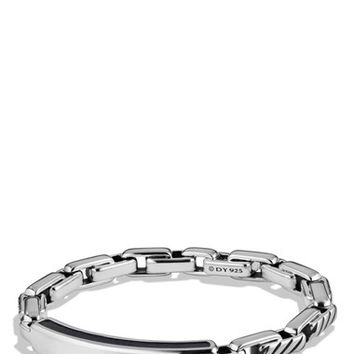Men's David Yurman 'Modern Cable' ID Bracelet - Silver