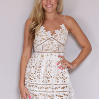 Just Right Dress - Ivory