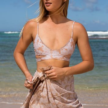 ACACIA Swimwear 2018 Haku Top in Naked Magnolia