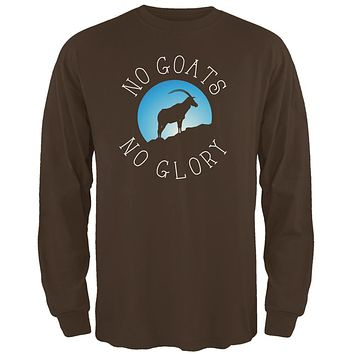 No Guts Goats No Glory Mens Long Sleeve T Shirt