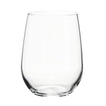 Libbey Stemless White Wine Glasses Set of 4