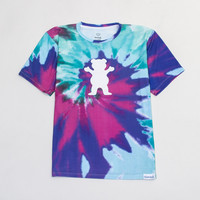 Digi Tie-Dye Tee in Cotton Candy