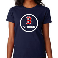 Boston Strong Marathon Shirt Great Support of The Boston Marathon Tragedy Boston T Shirt Red Sox Charities Shirt Christmas Gift Ladies Mens