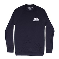 Hybrid Sweatshirt in Navy by Waters Bluff - FINAL SALE