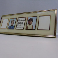 Vintage Small Snapshot Frame for School Photos