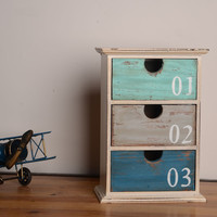 Storage Creative Vintage Gifts Weathered Home Decor = 5893437633
