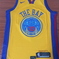 Golden State Warriors #30 Stephen Curry City Edition Jersey