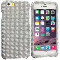 Silver Bling Rhinestone Case Cover for Apple iPhone 6 Plus 6S Plus (5.5)