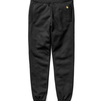 Carhartt WIP Chase Sweat Pants - Black