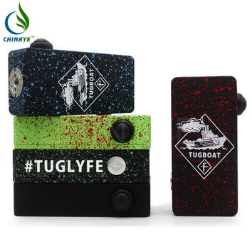 2015 tugboat box mod clone incubus mechanical mod 18650 Battery ecig mods vs tugboat box mod kit in stock