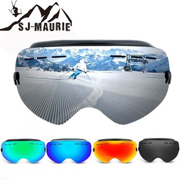 New Arrival 2018 Double Lens Ski Goggles UV400 Anti-fog Goggles Ski Mountaineering Snow Glasses Men Women Snow Snowboard Goggles