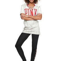 Strappy Campus Tee - PINK - Victoria's Secret
