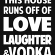love laughter & vodka Art Print by red.lime art&design