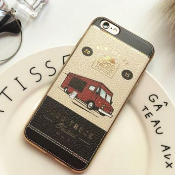 80&Food truck Phone Case Cover for Apple iPhone 7 7 Plus 5S 5 SE 6 6S 6 Plus 6S Plus + Nice gift box! LJ161101-007